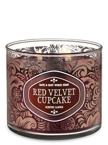 Red Velvet Cupcake 3-Wick Candle - Bath And Body Works
