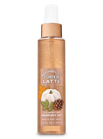 Marshmallow Pumpkin Latte Illuminating Fragrance Mist - Bath And Body Works