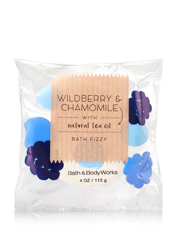 Signature Collection Wildberry & Chamomile Bath Fizzy - Bath And Body Works