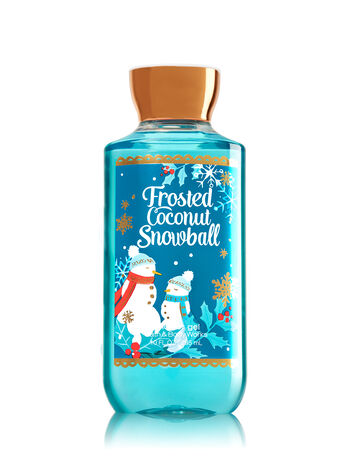 Signature Collection Frosted Coconut Snowball Shower Gel - Bath And Body Works