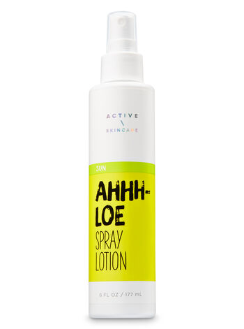 Signature Collection Ahhh-Loe Spray Lotion - Bath And Body Works