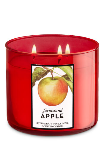 Farmstand Apple 3-Wick Candle - Bath And Body Works