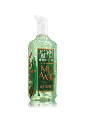 Miami Mint Mojito Deep Cleansing Hand Soap - Bath And Body Works