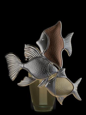 Metallic Fish Trio Nightlight Wallflowers Fragrance Plug