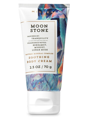Signature Collection Moonstone Travel Size Body Cream - Bath And Body Works