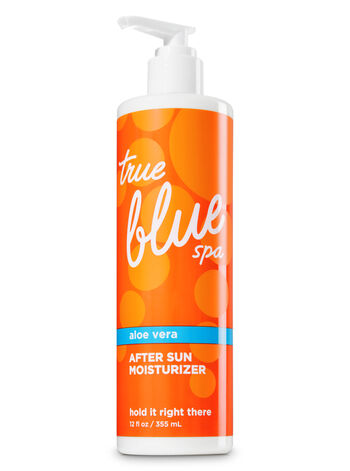 True Blue Spa Hold It Right There After Sun Moisturizer - Bath And Body Works
