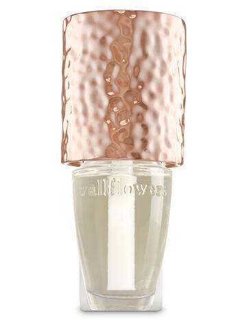 Rose Gold Textured Shade Wallflowers Fragrance Plug