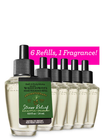 Eucalyptus Spearmint 6-Pack Wallflowers Sampler - Bath And Body Works