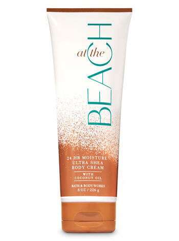 Signature Collection At The Beach Ultra Shea Body Cream - Bath And Body Works