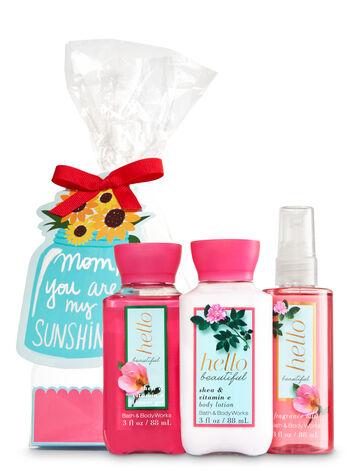 Hello Beautiful You Are My Sunshine Gift Set