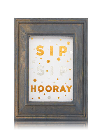 Wooden Sip Sip Hooray Frame Wallflowers Fragrance Plug