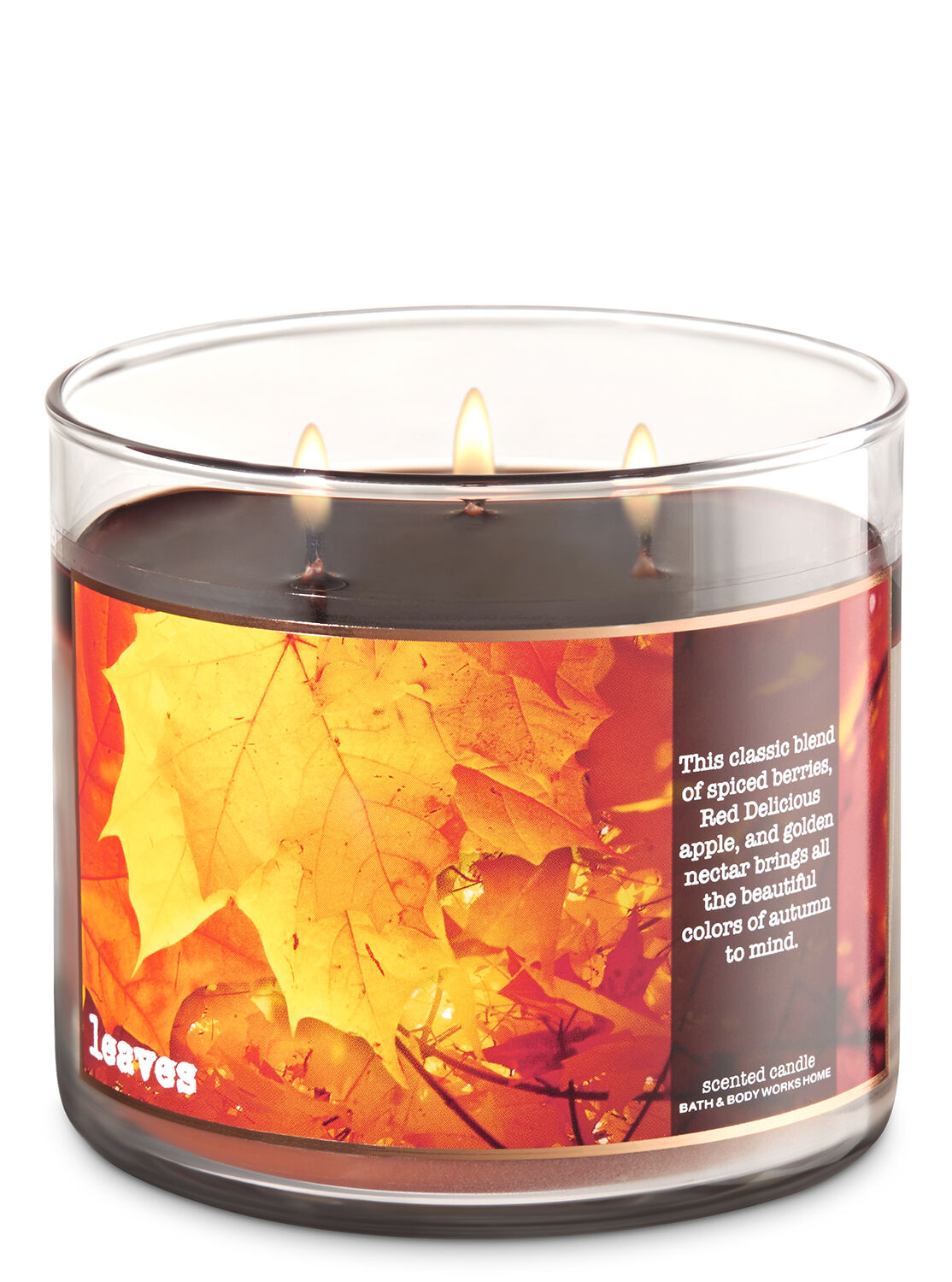 Leaves 3 Wick Candle   Bath And Body Works3 Wick Candles   Bath   Body Works. Bath And Body Shop Toronto. Home Design Ideas