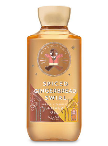 Signature Collection Spiced Gingerbread Swirl Shower Gel - Bath And Body Works