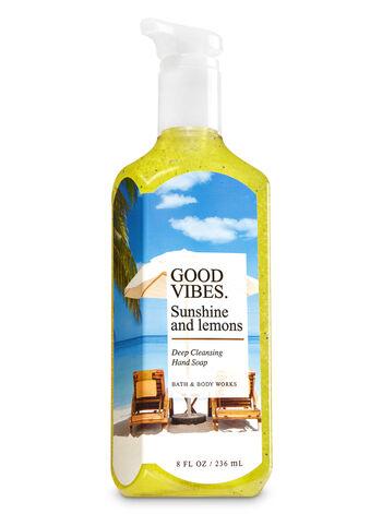 Sunshine & Lemons Deep Cleansing Hand Soap - Bath And Body Works