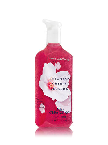 Japanese Cherry Blossom Deep Cleansing Hand Soap - Bath And Body Works