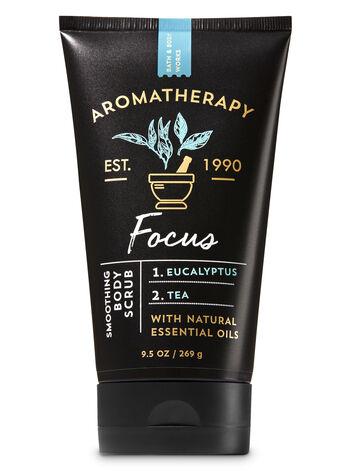 Aromatherapy Focus - Eucalyptus & Tea Smoothing Body Scrub - Bath And Body Works