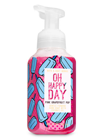 Pink Grapefruit Pop Gentle Foaming Hand Soap - Bath And Body Works
