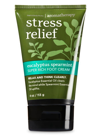 Aromatherapy Eucalyptus Spearmint Super Rich Foot Cream - Bath And Body Works