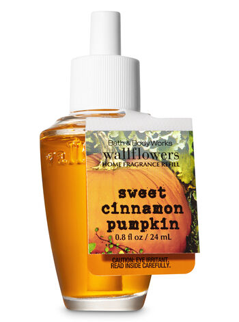 Sweet Cinnamon Pumpkin Wallflowers Fragrance Refill - Bath And Body Works