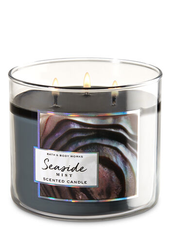 Seaside Mist 3-Wick Candle - Bath And Body Works