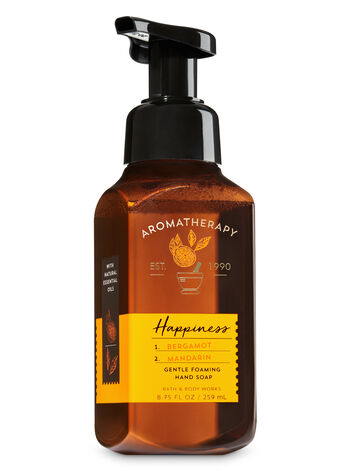 Aromatherapy Happiness - Bergamot & Mandarin Gentle Foaming Hand Soap - Bath And Body Works