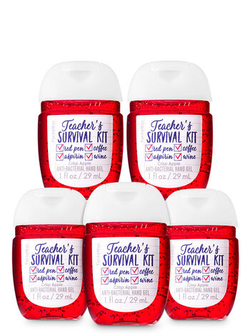 Teacher's Survival PocketBac Hand Sanitizers, 5-Pack - Bath And Body Works