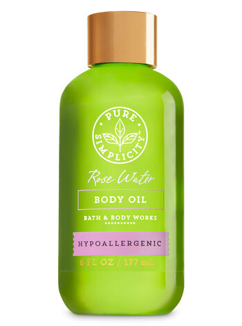 Rose Water Body Oil - Bath And Body Works