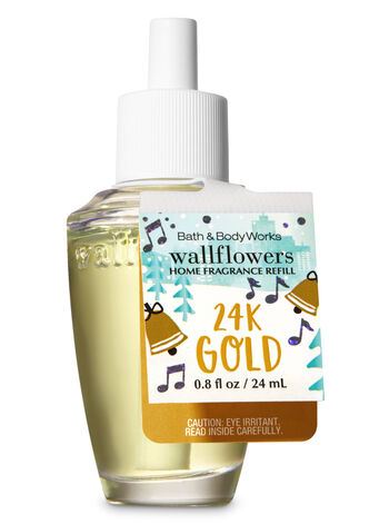 24K Gold Wallflowers Fragrance Refill - Bath And Body Works