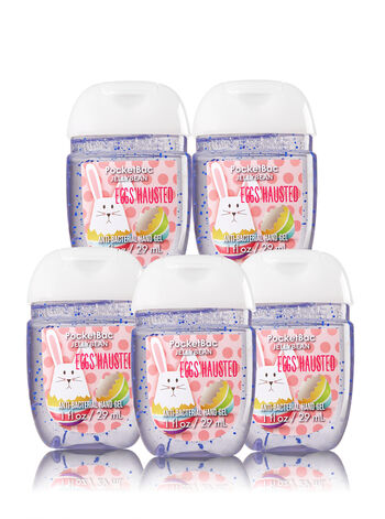 Eggs'hausted 5-Pack PocketBac Sanitizers - Bath And Body Works