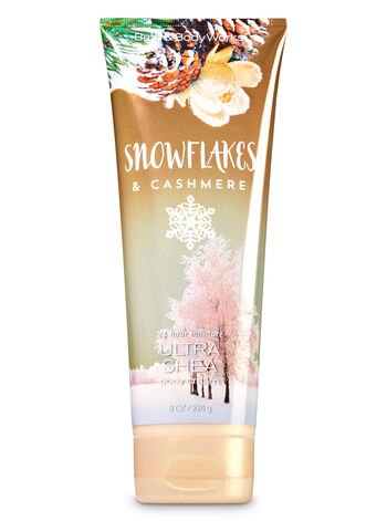 Signature Collection Snowflakes & Cashmere Body Cream - Bath And Body Works