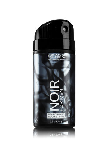 Signature Collection Noir For Men Deodorizing Body Spray - Bath And Body Works