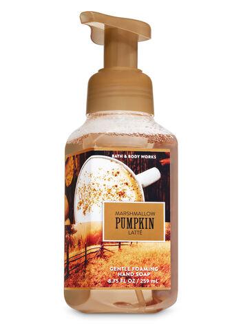 Marshmallow Pumpkin Latte Gentle Foaming Hand Soap - Bath And Body Works