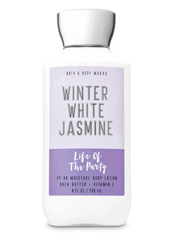 Winter White Jasmine Super Smooth Body Lotion - Bath And Body Works