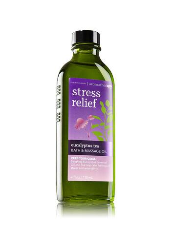 Aromatherapy Eucalyptus Tea Massage Oil - Bath And Body Works