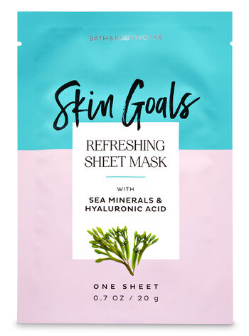 Refreshing with Sea Minerals & Hyaluronic Acid Face Sheet Mask