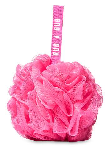 Dark Pink Mesh Sponge - Bath And Body Works