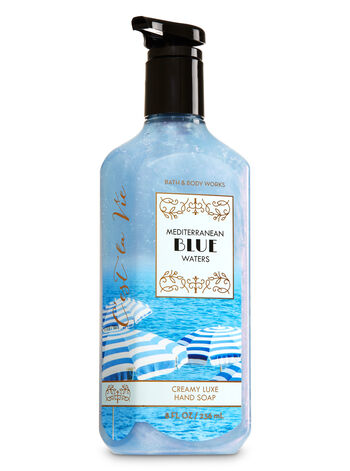 Mediterranean Blue Waters Creamy Luxe Hand Soap - Bath And Body Works