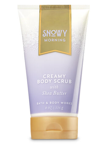 Signature Collection Snowy Morning Creamy Body Scrub - Bath And Body Works