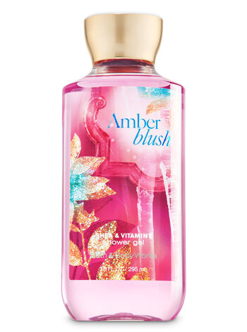 Signature Collection Amber Blush Shower Gel - Bath And Body Works