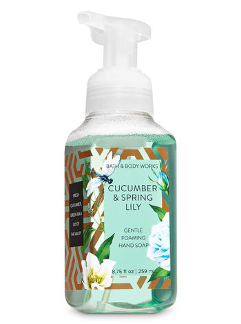 Cucumber & Spring Lily Gentle Foaming Hand Soap - Bath And Body Works