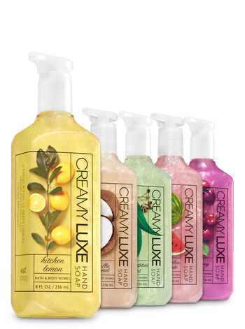 Refreshing Favorites Creamy Luxe Hand Soap, 5-Pack - Bath And Body Works