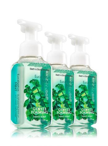 Eucalyptus Mint 3-Pack Gentle Foaming Soap - Bath And Body Works