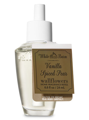 Vanilla Spiced Pear Wallflowers Fragrance Refill - Bath And Body Works