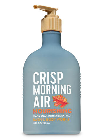 Crisp Morning Air Hand Soap with Shea Extract - Bath And Body Works