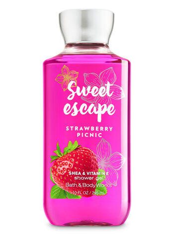Signature Collection Strawberry Picnic Shower Gel - Bath And Body Works