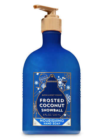 Frosted Coconut Snowball Nourishing Hand Soap - Bath And Body Works