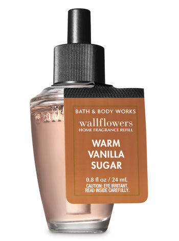 Signature Collection Warm Vanilla Sugar Wallflowers Fragrance Refill - Bath And Body Works