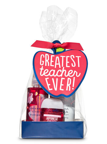 Japanese Cherry Blossom Greatest Teacher Ever Mini Gift Set