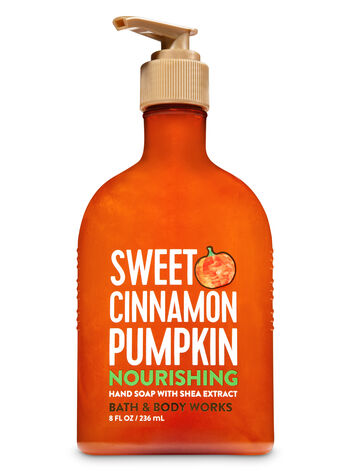 Sweet Cinnamon Pumpkin Hand Soap with Shea Extract - Bath And Body Works