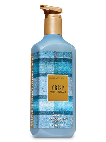 Crisp Morning Air Gentle Exfoliating Hand Soap - Bath And Body Works